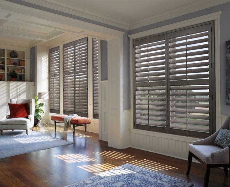 Heritance® hardwood shutters
